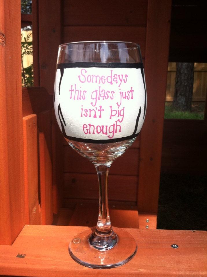 Zebra print wine glass funny wine glass large wine glass for Large white wine glasses