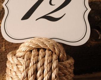 Nautical Wedding - Nautical Decor - Pro-Manila Rope - UN-Manila Rope - Nautical Tables - (this is per knot)