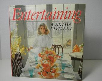 1982 MARTHA STEWART ENTERTAINING - First Edition