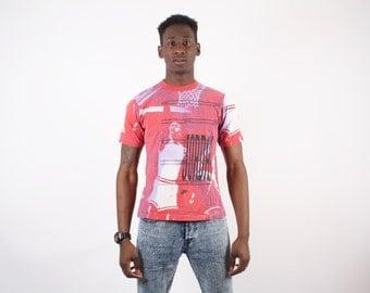NIKE Vintage Michael Jordan T Shirt  - Michael Jordan T Shirt - Chicago Bulls Jordan T Shirt -  1399