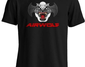 Airwolf - Wolf in Sheeps Clothing Retro Eighties T-shirts TV Show T-shirt