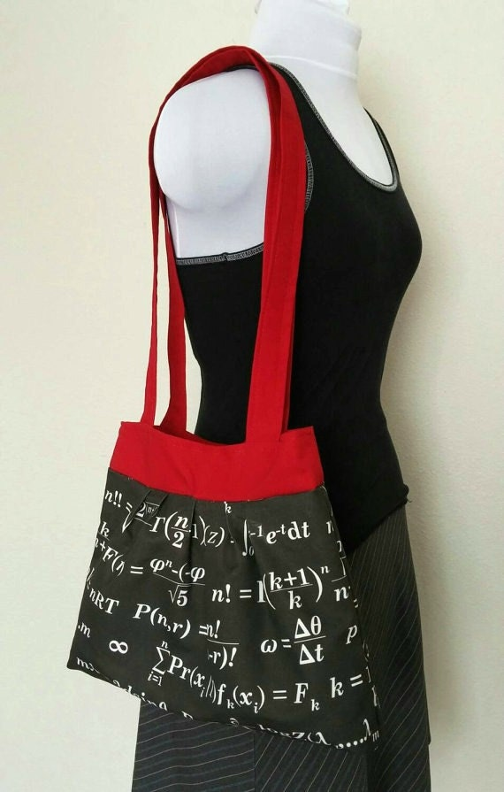 Math Equation Tote Bag