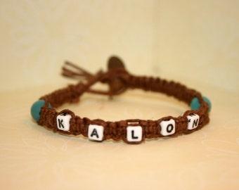 Natural Brown Hemp Bracelet Kalon