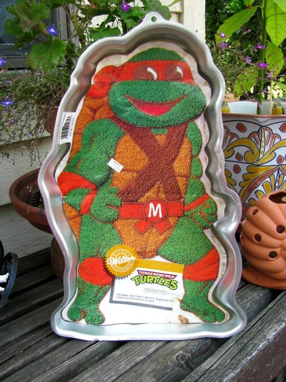 Michelangelo Ninja Turtle Cake Pan