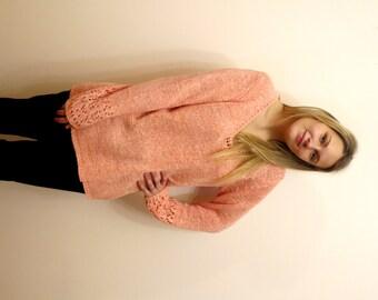 Vintage knit sweater | Etsy