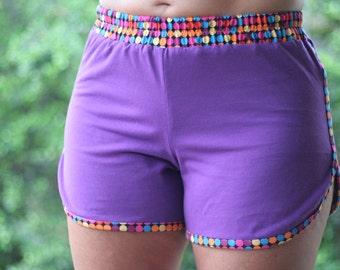Adult Unisex Sporty Shorts pattern - short and long length - PDF pattern
