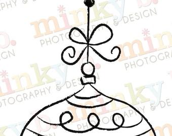 "INSTANT DOWNLOAD Digital Stamp ""Ornamental - 1"" by Minky B Designs"