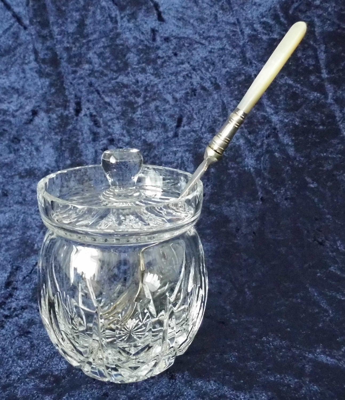 vintage glas schneiden gurke glas und antik silber versilbert. Black Bedroom Furniture Sets. Home Design Ideas