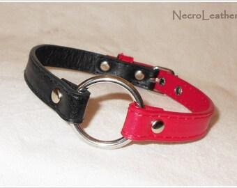 Harley Quinn Collar - Faux Leather BDSM Collar