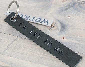key chain leather DA_IST_ER_JA