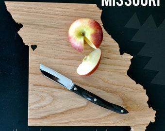 MISSOURI State Cutting Board.
