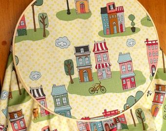 Yellow Crib Sheet - Fitted Crib Sheet - Yellow Toddler Sheet - Yellow Baby Bedding - Toddler Fitted Sheet - Toddler Sheet - Bicycle Crib