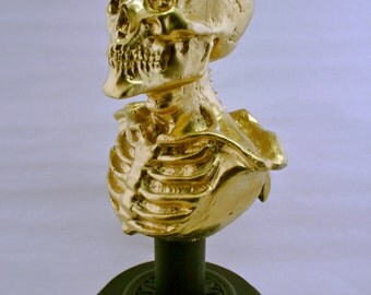 Beautiful Decay: A Bust of Death (Gold)