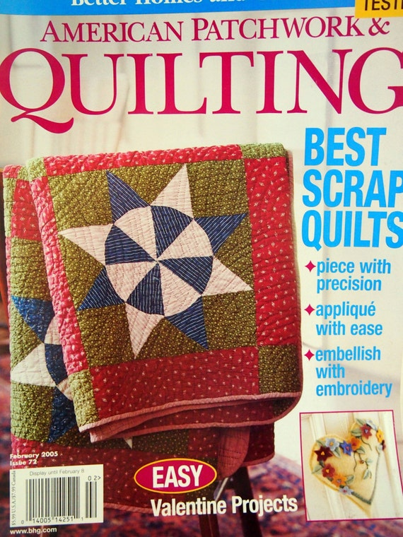 American Patchwork Quilting By Better Homes And By