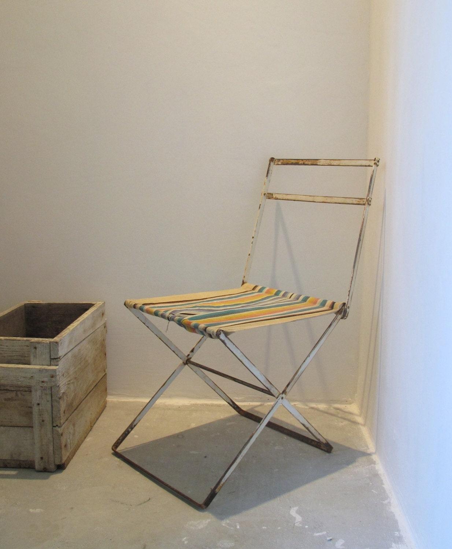 pique nique fran ais metal tabouret chaise pliante toile. Black Bedroom Furniture Sets. Home Design Ideas