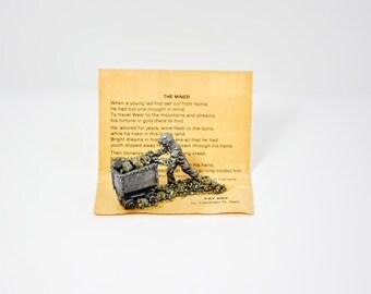 Iron Pyrite Miniature The Miner Christian G, Salz Canada