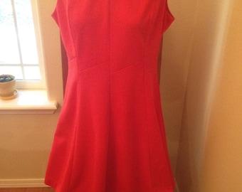 Vintage 1960 Mod Kay Windsor Sleeveless Midi Dress Mod