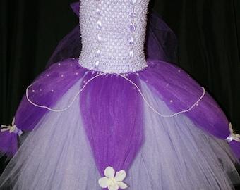 Princess Sofia The First Tutu Dress, Sofia The first tutu dress, Princess Tutu Dress
