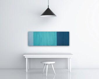 Painted Reclaimed Wood Art
