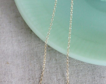 Pearls Necklace /  Everyday Necklace / Bridesmaids Necklace - Gold Filled Chain / Three White Freshwater Pearls
