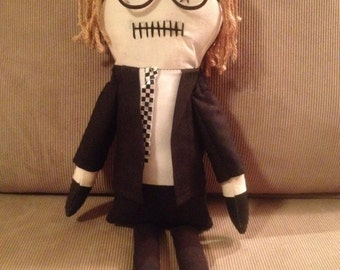 "Creepy n Cute Zombie Doll - ""Johnny"" - Inspired by 'Night of the Living Dead"" (D)"