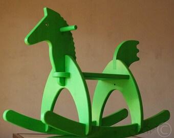 Wooden Handmade Rocking Horse, Children Rocking Horse, Handmade Children Toys
