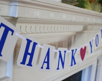 Wedding Thank You Banner