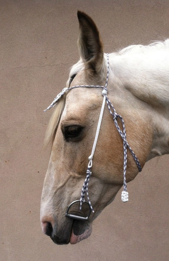 Items similar to paracord horse bridle bit hanger for Paracord horse bridle