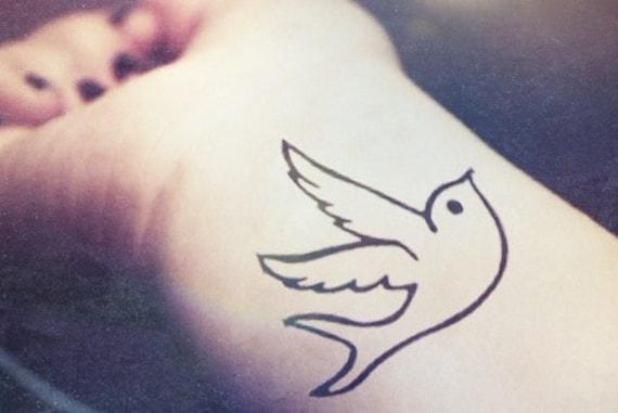 oiseau de paix 4pcs pigeon hirondelle tatouage inknart par inknart. Black Bedroom Furniture Sets. Home Design Ideas