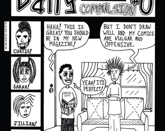 The Daily Compulsion #0 mini-comic