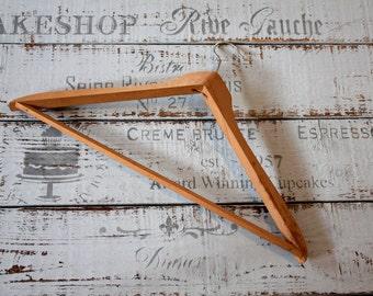 Vintage Industrial Wooden hangers! 60s