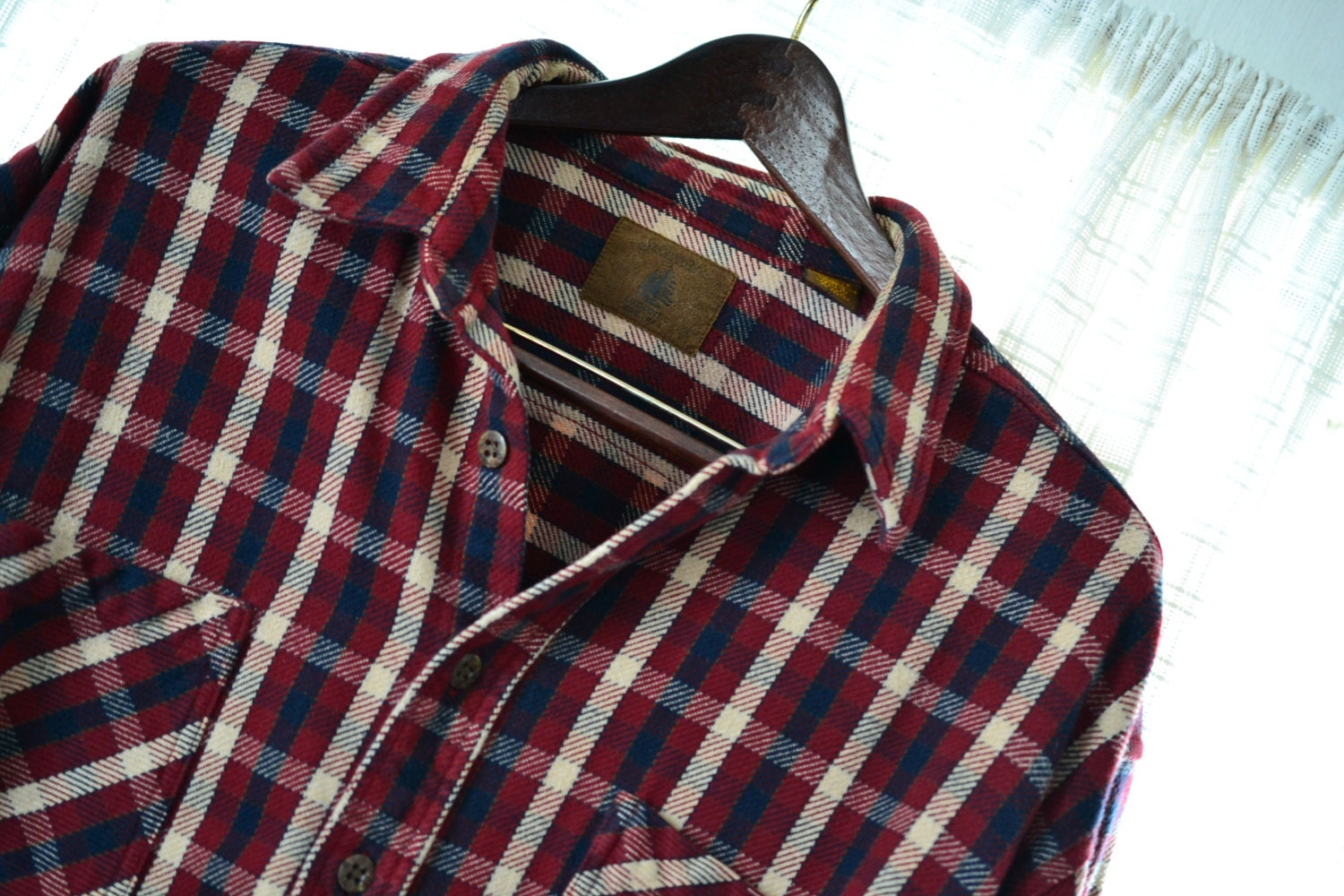 St John 39 S Bay Men 39 S Heavy Flannel Shirt Xl Tartan