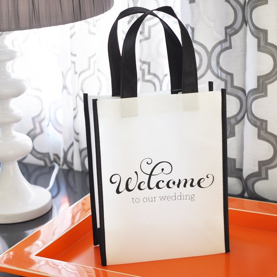 Welcome To Our Wedding Weekend Gift Bags: Wedding Welcome Bags Destination Welcome Bags Wedding Hotel