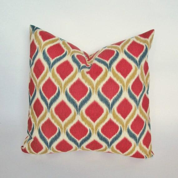 Modern Geometric Pillows : Modern Geometric Print Decorative Pillow Cover 18x18, 20x20 Square Throw Pillow, Accent Pillow ...