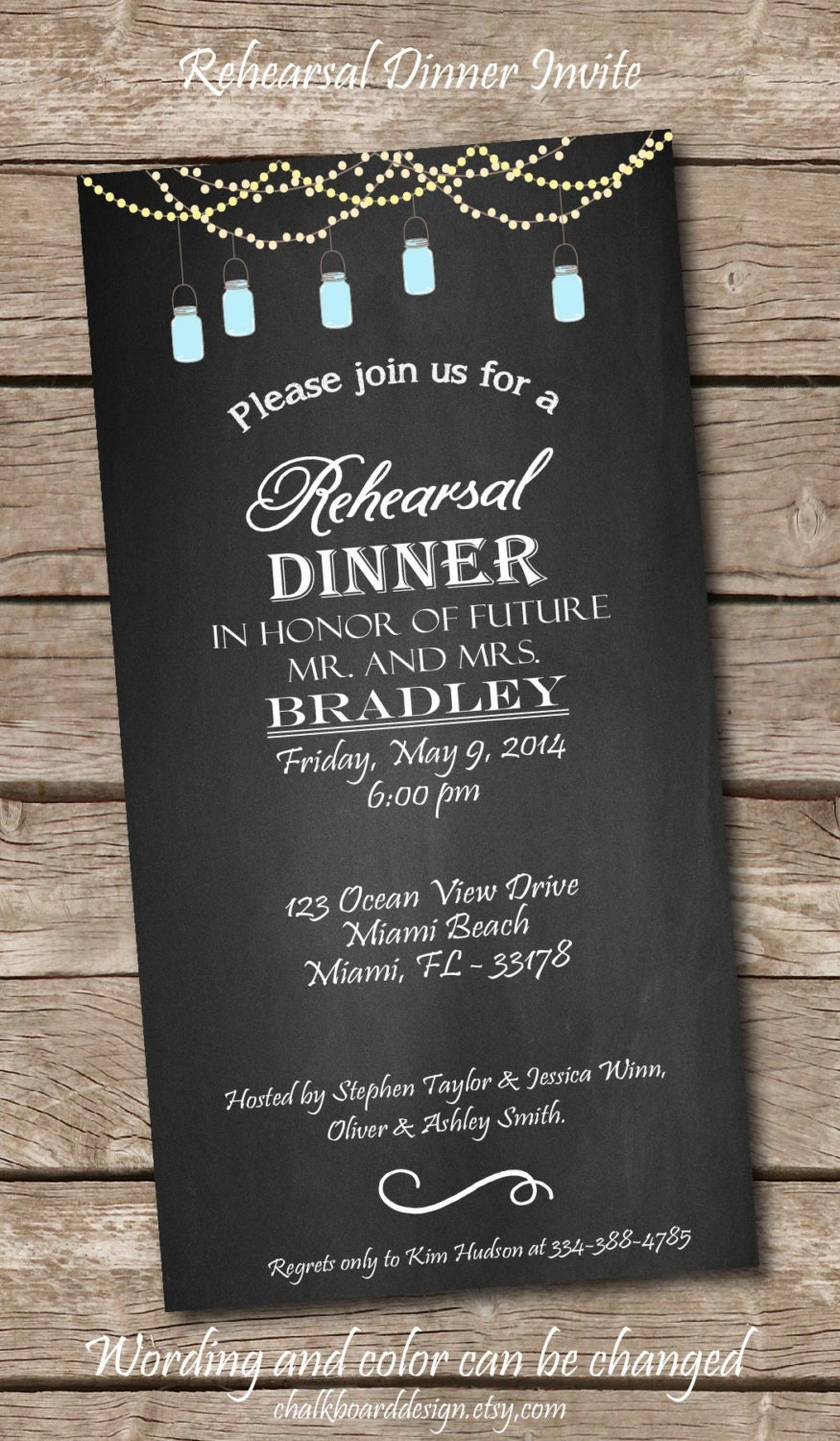 It is an image of Dramatic Printable Rehearsal Dinner Invitations
