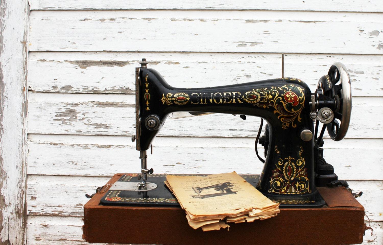 1912 singer sewing machine