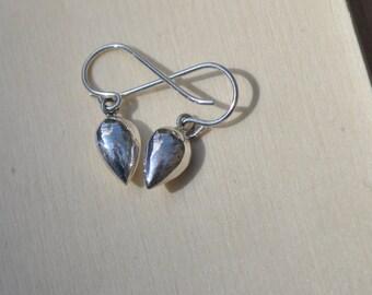 Petite Sterling Silver Drop Earrings