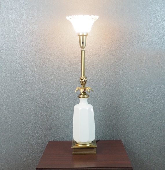 Vintage Stiffel Torchiere Lamp Lenox By Fireflyvintagehome