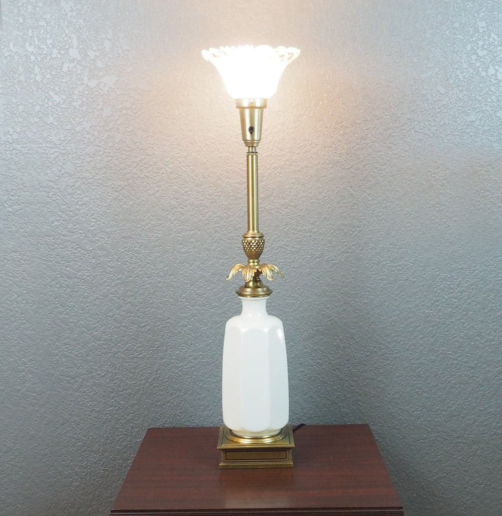 Vintage stiffel brass table lamps - Like This Item
