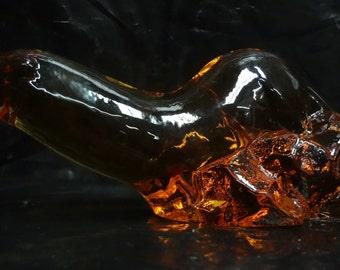 Swedish WWF Glass Sea Lion - E0060