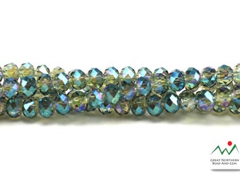 Crystal Rondelle 3MM X 4MM 120 Piece Strand #cry061644