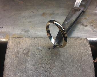 Wedding Ring Yellow Gold 18k