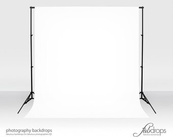 White Vinyl Photography Backdrop Photo Background  (FD1826)