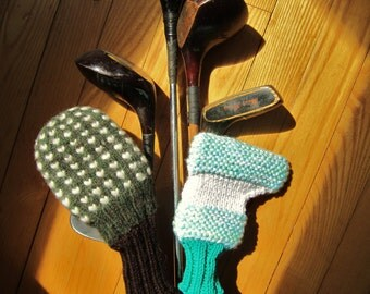 Whimsical Putter Covers...Re-purposed and Custom Fuzzy Top Models