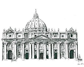 St. Peter's Basilica : Print
