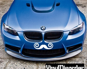 Mustache Vinyl Wall Decal Or Car Sticker - Mvd016ET