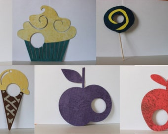 Eric Carle inspired Hungry Caterpillar Fruit Decoration