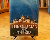 The Old Man And The Sea by Ernest Hemingway / FIRST EDITION / 1952 / Modern First Edition Books / Vintage Ernest Hemingway / Hemingway Book