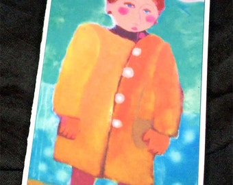 Blank Colette Card