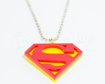 20% OFF - Classic Superman Necklace